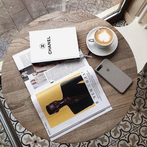 Записная книжка женская Chanel белая