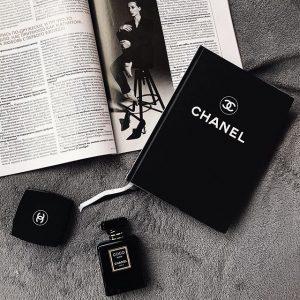 Ежедневник в стиле Шанель черный
