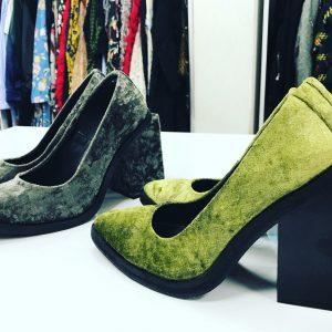 Женские туфли геометрия