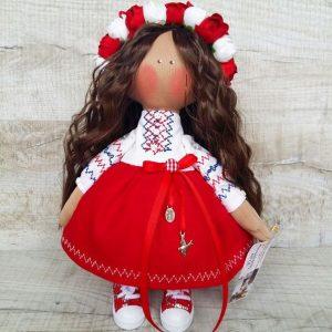 Дизайнерская кукла ручной работы украиночка