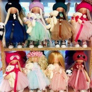 Дизайнерские куклы ручной работы