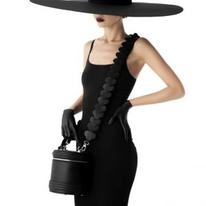 Женская сумка бочонок съемный ремешок