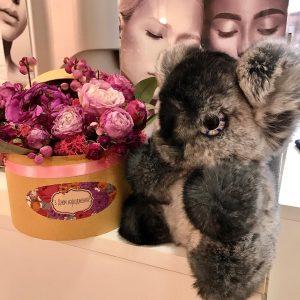 Игрушки из меха кролик рекс коала