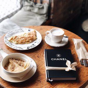 Блокнот Chanel черный классический