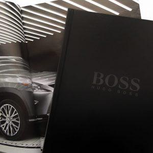 Ежедневник Hugo Boss ручной работы