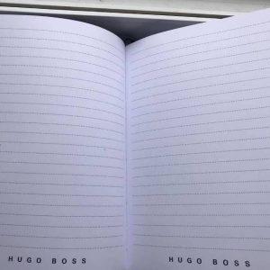 Записная книжка Boss черная закладка черная (1)