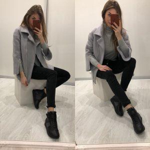 VN Женская обувь кроссовки высокие черные