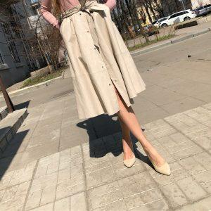 VN Женская обувь осенняя туфли замшевые беж