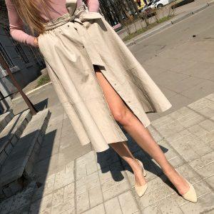 VN Женская обувь осенняя туфли замшевые беж (8)