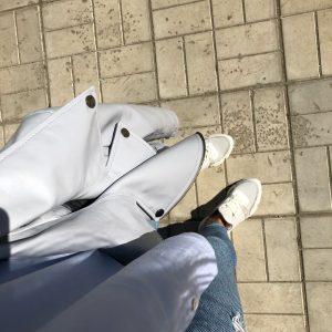 VN Женская обувь ручной работы кроссовки бежевые большие (2)
