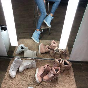 VN Женские сникерсы кожаные пошив шнурки атласные