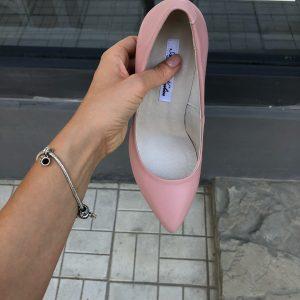 VN Авторская обувь купить туфли женские замшевые розовые на шпильке (4)