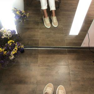 VN Индивидуальный пошив обуви кед из замши бежевой светлой (3)