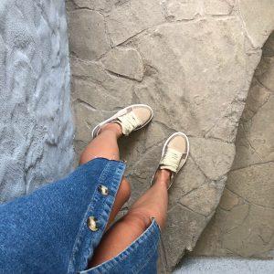 VN Индивидуальный пошив обуви кед женских замшевых коричнево бежевых (5)
