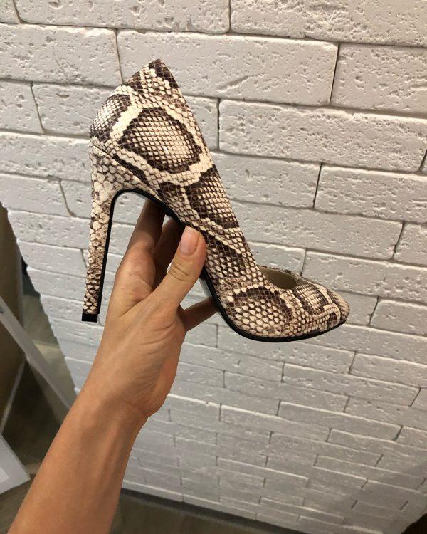 VN Пошив обуви на заказ туфель кожа питона (1)