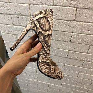VN Пошив обуви на заказ туфель кожа питона
