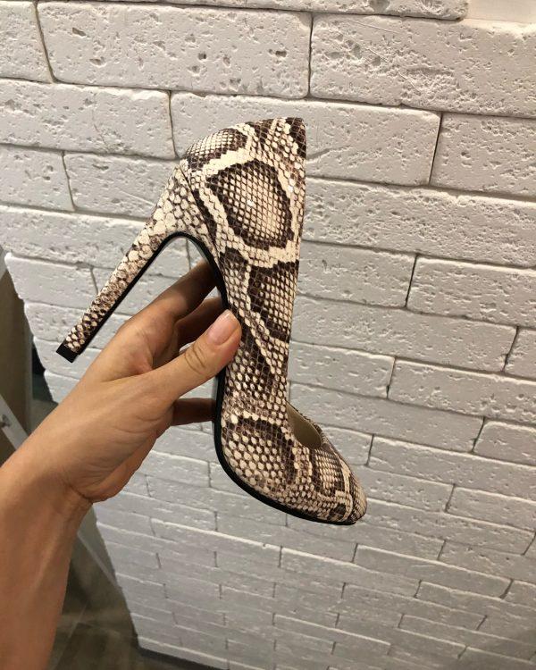 VN Пошив обуви на заказ туфель кожа питона (2)