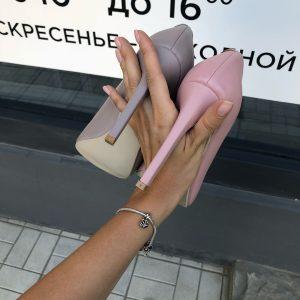 VN Женская обувь ручной работы туфли из замши лиловые светлые (3)