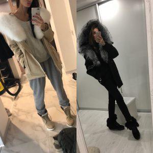 VN Женские ботинки зимние замшевые беж на шнуровке (3)