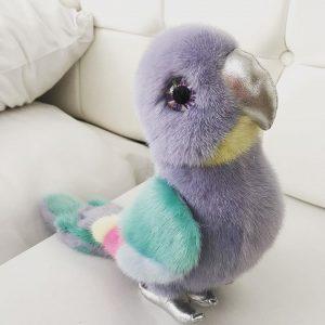 Интерьерная игрушка попугай 000.864